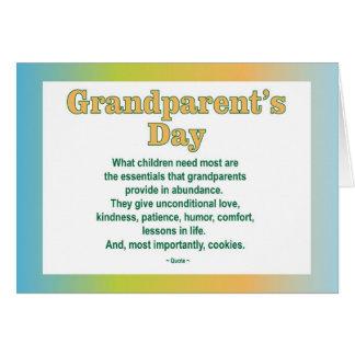Grootouders Dag 2 wenskaart