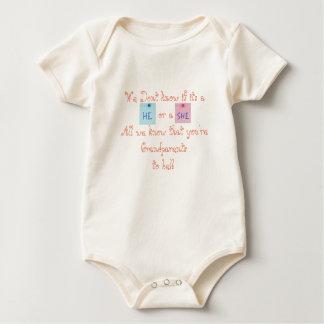 Grootouders om te zijn baby shirt