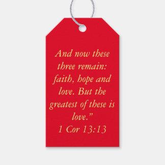 """""""Grootst is het Label van de Gift van het Heilige Cadeaulabel"""