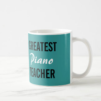 Grootste de leraarsmok van de Piano Koffiemok