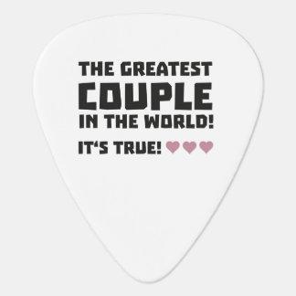 Grootste Paar in de wereld Z5rz0 Plectrum