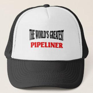 Grootste Pipeliner van de wereld Trucker Pet