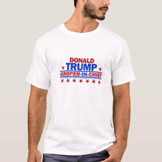 Groper in Belangrijkste Donald Trump T Shirt
