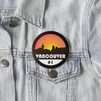 Grote 3 duimknoop met het logo van Vancouver Ronde Button 7,6 Cm