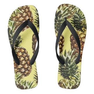 grote ananassen teenslippers