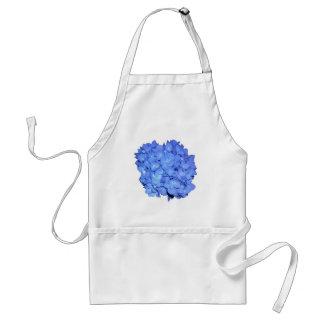 Grote Blauwe Hydrangea hortensia Standaard Schort