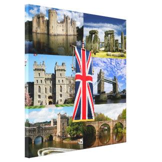 Grote Britse Geschiedenis Canvas Afdruk