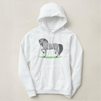 Grote $c-andalusisch geborduurde sweater hoodie