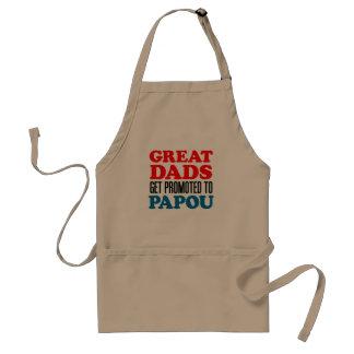 Grote Dads Bevorderde schort Papou
