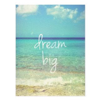 Grote droom briefkaart