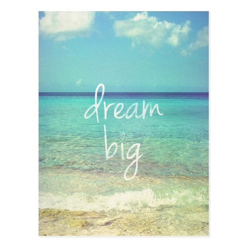 Grote droom wenskaarten