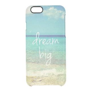 Grote droom doorzichtig iPhone 6/6S hoesje