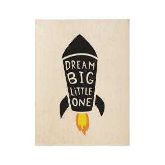 Grote droom houten poster