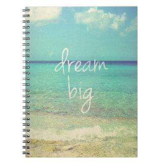 Grote droom notitieboek