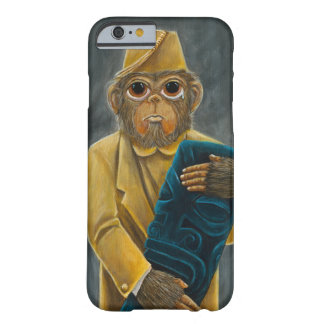 Grote Eyed iPhone van de Chimpansee 6/6s Barely There iPhone 6 Hoesje