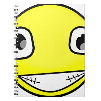 Grote Gekke Glimlach Notitieboek