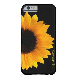 Grote Gele iphone 6 van de Zonnebloem Hoesje