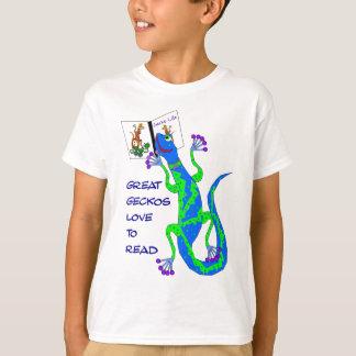 Grote Gelezen Gekko's T Shirt
