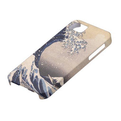 Grote Golf door Hokusai, Vintage Japanese Art iPhone 5 Case-Mate Hoesje