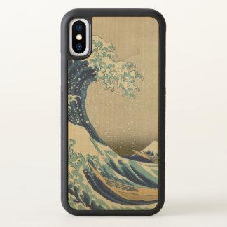 Grote Golf van Kanagawa door Hokusai GalleryHD iPhone X Hoesjes 0