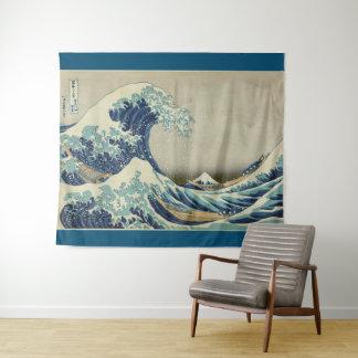 Grote Golf van Kanagawa door Hokusai GalleryHD Wandkleed