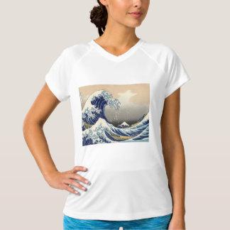 Grote Golf van Kanagawa T Shirt