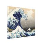 Grote Golf van Oosters Fijn Art. Kanagawa