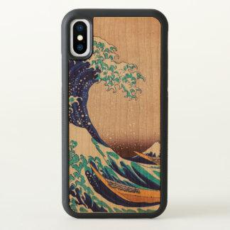 Grote Golf van Vintage Japans Art. Kanagawa iPhone X Hoesjes 0