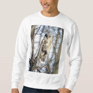 Grote Grijze Uil - Romige Bruine Observateur Trui
