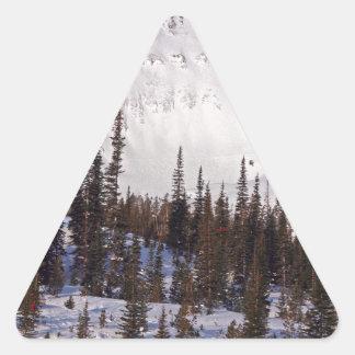 Grote Hemel de ski?ende en snowboarding toevlucht Stickers