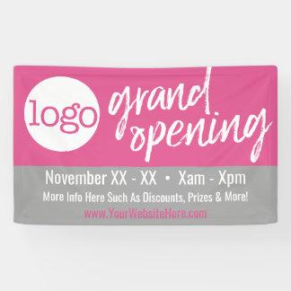Grote het Openen Reclame - voeg Logo en Details