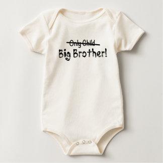 Grote Leuke Broer (slechts doorgestreept Kind) en Baby Shirt