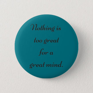 Grote Mening Ronde Button 5,7 Cm