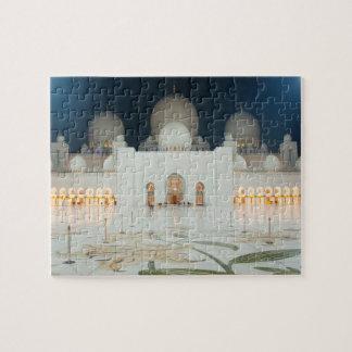 Grote Moskee, Abu Dhabi, de V.A.E, Verenigde Legpuzzel