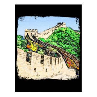 Grote Muur van China Briefkaart