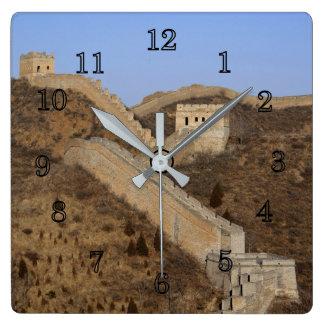 Grote Muur van China Vierkante Klok