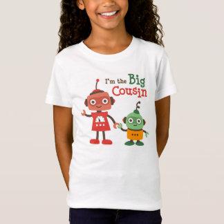 Grote Neef - de t-shirts van de Robot voor meisjes