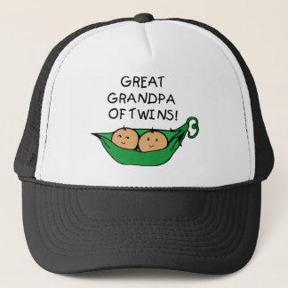 Grote Opa van de Peul van Tweelingen Trucker Pet