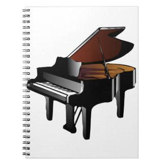 Grote Piano Notitieboeken