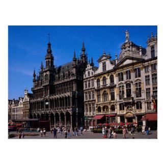 Grote Plaats, Brussel, België Briefkaart