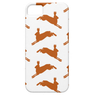 Grote Springende Hazen Bruine Fawn Barely There iPhone 5 Hoesje
