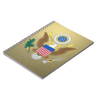 Grote verbinding van de Verenigde Staten Notitieboeken