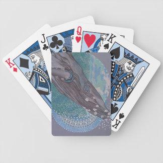 Grote walvis bicycle speelkaarten