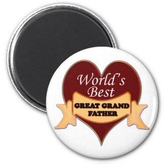 Grote wereld - grootvader magneet