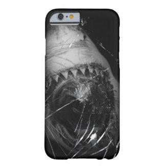 Grote Witte iphone 6 van de Aanval van de Haai Barely There iPhone 6 Hoesje