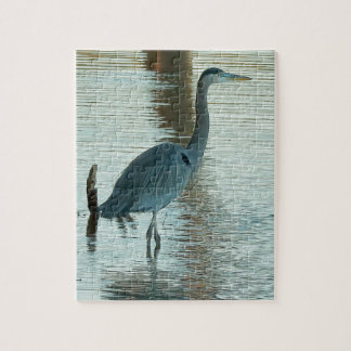 Grote Witte Reiger Puzzel