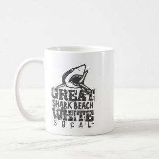 Grote Witte SoCal Koffiemok