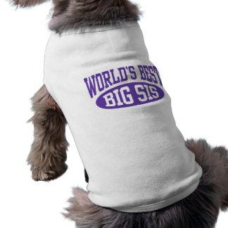 Grote Zus Mouwloos Hondenshirt