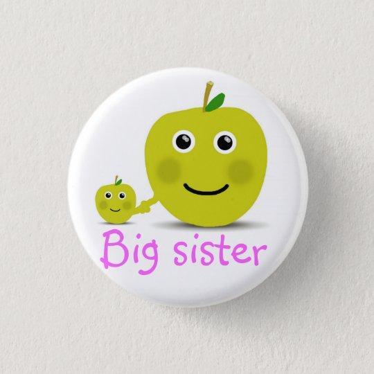 Grote zus ronde button 3,2 cm