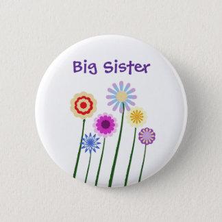 Grote zuster, de kleurrijke digitale knoop van ronde button 5,7 cm